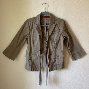 🍩 5 for $15 - Tan jacket
